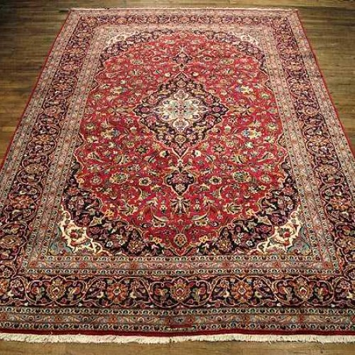 Handmade Authentic Persian Carpet from Kashan