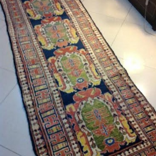 Kazak Antique Old Corridor Runner