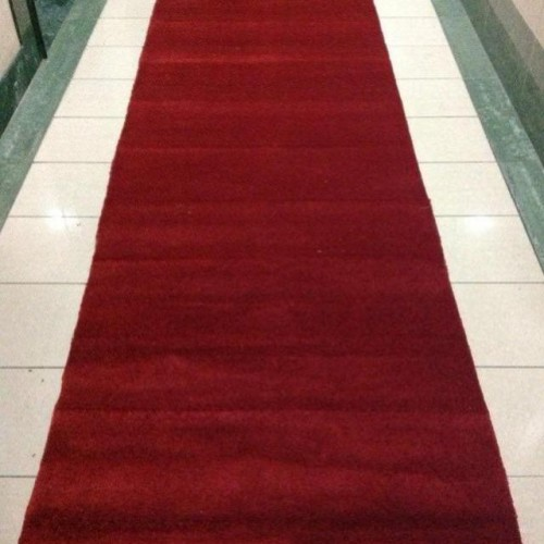 Red Color Carpet